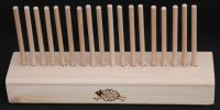 Laminated Base 0.25m with 18 x 6mm Beech Pegs