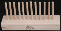 Laminated Base 0.75m with 42 x 8mm beech pegs