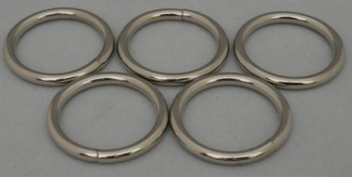 Silver Rings 1 inch (8)