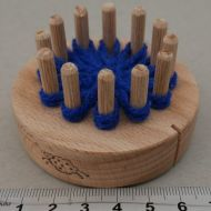 Flower Winder - 1 ring wood peg