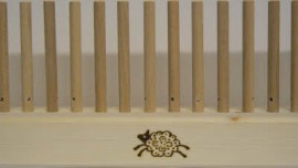 1m with 44 x 10mm beech pegs