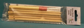 Weaving sticks set - 6mm beech